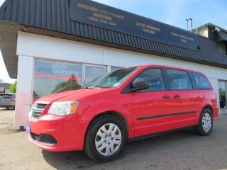 2013 Dodge Grand Caravan SE.7PASSENGERS,REAR STOW AND GO