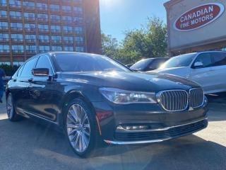 Used 2016 BMW 750Li xDrive CLEAN CARFAX | LWB | NAVI | CAM | PANO | AW for sale in Scarborough, ON