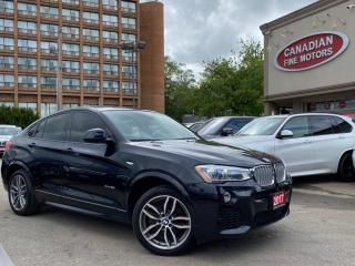 Used 2016 BMW X4 NO ACCIDENT | M SPORT PKG | EVERY OPTION | for sale in Scarborough, ON