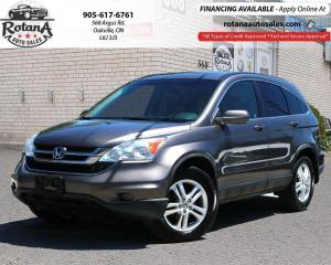 Used 2010 Honda CR-V 4WD 5dr EX-L w/Navi_Rear Cam_Sunroof_Leather for sale in Oakville, ON