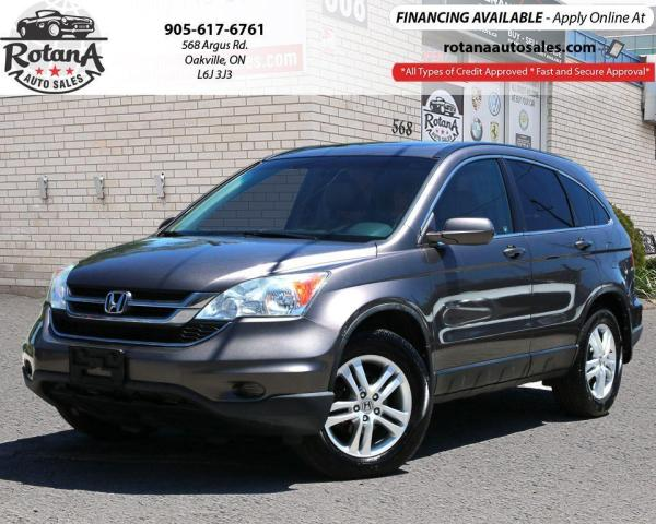 2010 Honda CR-V 4WD 5dr EX-L w/Navi_Rear Cam_Sunroof_Leather