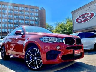 Used 2016 BMW X6 M NAVI | CAM | H.U.D | 567 HP | LDW | BSM | BAL WARR for sale in Scarborough, ON