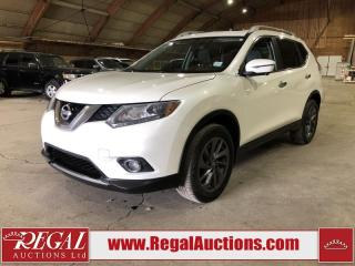 Used 2016 Nissan Rogue SL 4D Utility AWD for sale in Calgary, AB