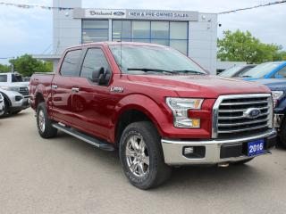 Used 2016 Ford F-150 XLT XTR | BACK UP CAM | CLEAN CAR FAX for sale in Winnipeg, MB