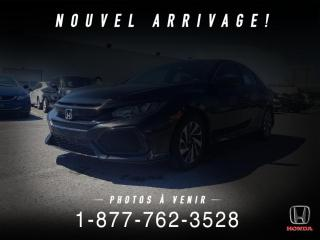 Used 2017 Honda Civic LX + HATCHBACK + A/C + PROPRE + WOW! for sale in St-Basile-le-Grand, QC