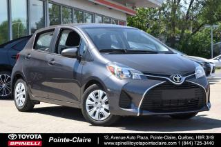 Used 2016 Toyota Yaris ***RÉSERVÉ***LE HB for sale in Pointe-Claire, QC