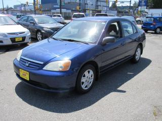 Used 2003 Honda Civic DX-G for sale in Vancouver, BC