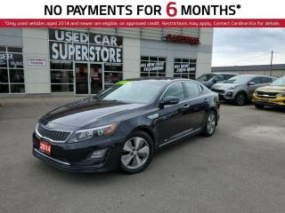 Used 2014 Kia Optima Hybrid EX Hybrid, Sunroof, Heated Seats, Bluetooth. for sale in Niagara Falls, ON