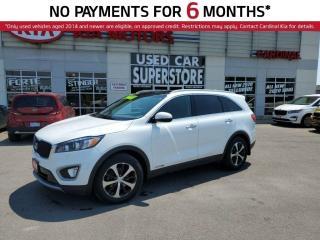 Used 2018 Kia Sorento EX Plus, AWD, 7 Passenger, Sunroof, Leather, for sale in Niagara Falls, ON