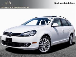 Used 2014 Volkswagen Golf Wagon 4dr TDI Man Wolfsburg Edition for sale in Concord, ON