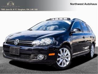 Used 2013 Volkswagen Golf Wagon HIGHLINE TDI 6 SPEED MANUAL PANORAMIIC SUNROOF for sale in Concord, ON