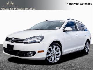 Used 2013 Volkswagen Golf Wagon 4dr TDI Manual 6 SPEED Highline NAVIGATION for sale in Concord, ON