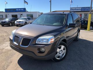 Used 2008 Pontiac Montana Sv6 w/1SB for sale in Whitby, ON