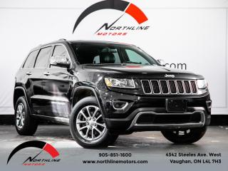 Used 2014 Jeep Grand Cherokee Limited|4WD|Navigation|Camera|Heated Leather|Sunroof for sale in Vaughan, ON