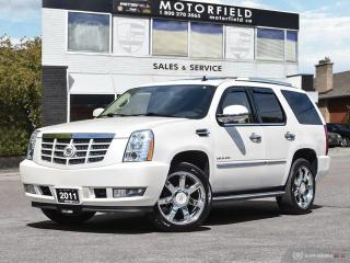 Used 2011 Cadillac Escalade Luxury 4X4 *NAV|CAM|DVD|Accident Free* for sale in Scarborough, ON