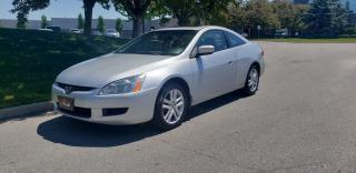 Used 2004 Honda Accord Coupe 2dr Cpe EX-L V6 | 6-Spd | 1 Owner | Accident Free | CF Trim for sale in Vaughan, ON