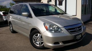 Used 2006 Honda Odyssey EX-L - LEATHER! 8 PASSENGER! POWER SLIDING DOORS! for sale in Kitchener, ON