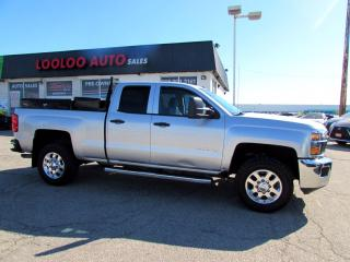 Used 2015 Chevrolet Silverado 2500 HD LT Z71 Double Cab Long Box 4WD Camera Bluetooth Certified for sale in Milton, ON