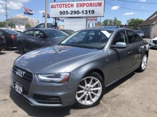 Used 2016 Audi A4 2.0T Progressive Plus Navigation/Camera/Sunroof for sale in Mississauga, ON