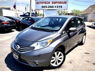 Used 2016 Nissan Versa Note SL Navigation/Camera/Heated Seats/Camera for sale in Mississauga, ON