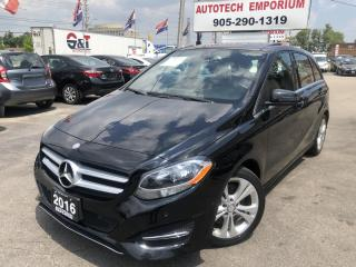 Used 2016 Mercedes-Benz B-Class B250 4Matic AWD Navigation/Camera/Pano Sunroof for sale in Mississauga, ON
