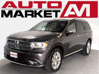Used 2014 Dodge Durango Citadel CERTIFIED,AWD,Backup Camera,WE APPROVE ALL CREDIT for sale in Guelph, ON