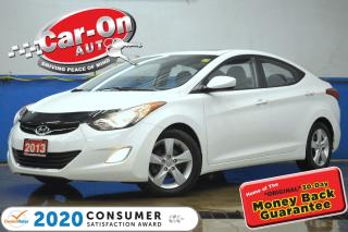 Used 2013 Hyundai Elantra GLS AUTO SUNROOF A/C HTD SEATS ALLOYS for sale in Ottawa, ON
