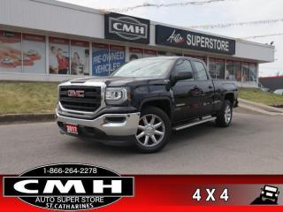 Used 2017 GMC Sierra 1500 Base  V8 4X4 CAM 20 -ALLOYS TOW-PKG for sale in St. Catharines, ON