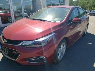 Used 2018 Chevrolet Cruze LT Auto Remote Start Heated Seats Backup Camera for sale in Trenton, ON