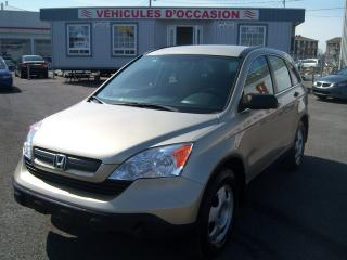 Used 2007 Honda CR-V LX 4X4 for sale in St-Jean-Sur-Le-Richelieu, QC