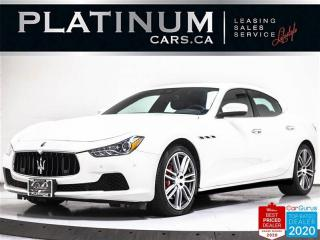 Used 2017 Maserati Ghibli S Q4, 3.0L 404HP, AWD, NAV, CAM, PARKING SENSORS for sale in Toronto, ON