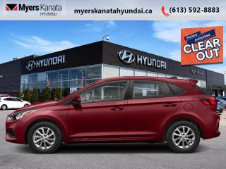 New 2020 Hyundai Accent Essential w/Comfort Package IVT  - $126 B/W for sale in Kanata, ON
