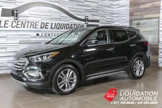 Used 2018 Hyundai Santa Fe Sport SE+AWD+TOIT+MAGS+CUIR+BLUETOOTH for sale in Laval, QC