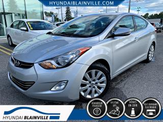 Used 2012 Hyundai Elantra LIMITED NAVIGATION, CUIR, TOIT OUVRANT, for sale in Blainville, QC