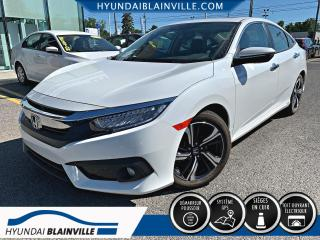 Used 2018 Honda Civic TOURING NAVIGATION, CUIR, MAGS, BANCS CH for sale in Blainville, QC
