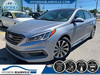 Used 2016 Hyundai Sonata SPORT TECH NAVIGATION, CUIR, MAGS, TOIT for sale in Blainville, QC