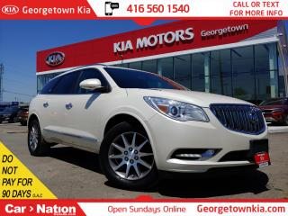 Used 2015 Buick Enclave LEATHER | NAVI | ROOF | BU CAM | 7 PASS | ONLY 95K for sale in Georgetown, ON