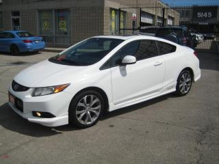 Used 2012 Honda Civic COUPE 2dr Man Si Aero kit Navigation roof Accident Free for sale in North York, ON