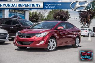Used 2013 Hyundai Elantra LIMITED*A/C, CUIR, MAGS, BLUETOOTH, TOIT OUVRANT* for sale in Repentigny, QC
