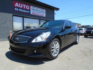 Used 2009 Infiniti G37 X AWD for sale in St-Hubert, QC