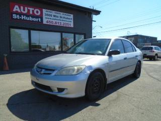 Used 2005 Honda Civic DX for sale in St-Hubert, QC