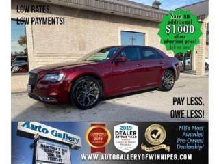 Used 2019 Chrysler 300 300S* LOW KM/NAV/Heated Seats/Sunroof/REMOTE START for sale in Winnipeg, MB