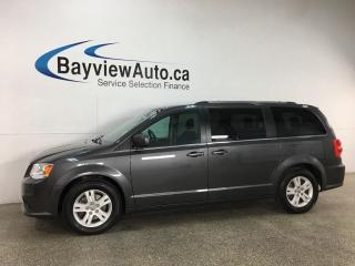 Used 2018 Dodge Grand Caravan Crew - MID BUCKETS! 3 ZONE A/C! REV CAM! PWR GROUP! for sale in Belleville, ON