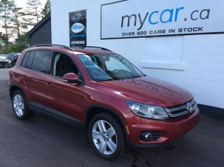 Used 2016 Volkswagen Tiguan Comfortline LEATHER, SUNROOF, HEATED SEATS, BACKUP CAM!! for sale in Richmond, ON