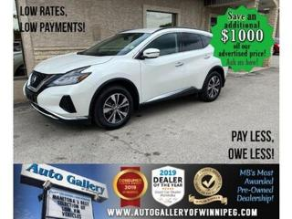 Used 2019 Nissan Murano FWD S for sale in Winnipeg, MB