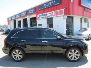 Used 2011 Acura MDX Elite $12,995+HST+LIC FEE / CERTIFIED / LEATHER/ DVD PLAYER for sale in North York, ON