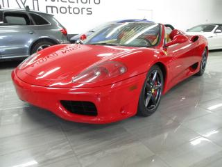 Used 2004 Ferrari 360 - LOW KM - Spider for sale in Oakville, ON