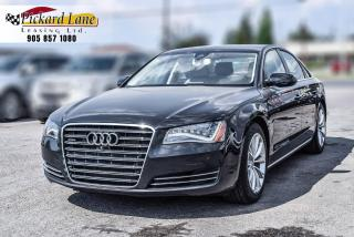 Used 2014 Audi A8 3.0 CERTIFIED!! | EXECUTIVE | SUPERCHARGED for sale in Bolton, ON