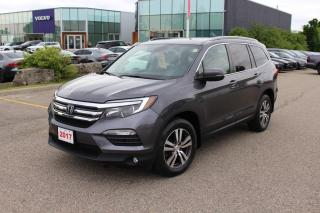 Used 2017 Honda Pilot Accident Free, One Owner Pilot EX! Certified Powertrain Warranty Until 10/09/2024 or 160,000KM! for sale in Waterloo, ON