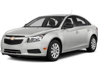 Used 2014 Chevrolet Cruze 2LT Auto.,Leather,C.Start for sale in Brandon, MB